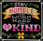 Words to Live By Part 11 - Cross Stitch Pattern
