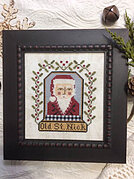 Old St Nick -  Cross Stitch Pattern