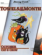 Towels of the Month - October Cat & Crow