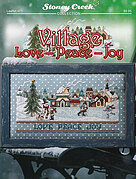 Village Love Peace Joy - Cross Stitch Pattern