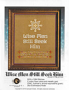 Wise Men Still Seek Him  - Cross Stitch Pattern