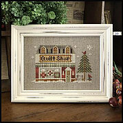 The Quilt Shop - Hometown Holiday - Cross Stitch Pattern