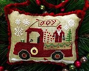 Christmas Joy Truck - Cross Stitch Pattern