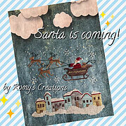 Santa is Coming - Cross Stitch Pattern