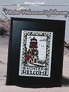 Winter Welcome Lighthouse - Cross Stitch Pattern