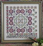 The Bramble and the Rose Cross Stitch Chart
