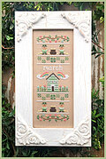 March - Sampler of the Month - Cross Stitch Pattern