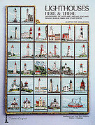 Lighthouses Here and There - Cross Stitch Pattern