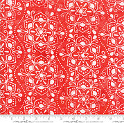 Kate Spain Calypso Batiks Azalea Red - Fat Quarter