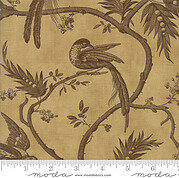 Blackbird Designs Sweet Cherry Wine Cherry Branch Half Yard