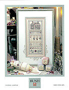 Evening Sampler - Cross Stitch Pattern