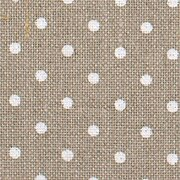36 Count Petit Point Raw Natural/White Edinburgh Linen 9x13