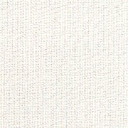 28 Count White Opalescent Lugana Fabric 18x27