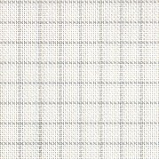 25 Count Easy Count Grid White/Grey Lugana Fabric 36x55