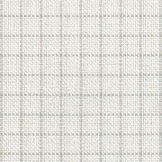 32 Count Easy Count Grid White/Grey Lugana Fabric 18x27