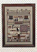 Home Of A Quilter - Cross Stitch Pattern