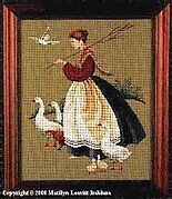 Feathers & Friends - Cross Stitch Pattern