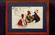 Catch The Wind - Cross Stitch Pattern