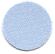 32 Count Light Blue Lugana Fabric 13x18