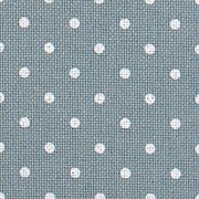 32 Count Petit Point Blue/White Lugana Fabric 18x27