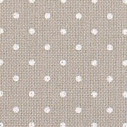 32 Count Petit Point Grey/White Lugana Fabric 18x27