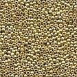 Mill Hill 40557 Gold Petite Beads - Size 15/0