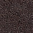 Mill Hill 42038 Matte Chocolate Petite Beads - Size 15/0