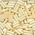 Mill Hill 70123 Cream Bugle Beads - 6mm Long