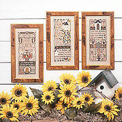 Garden Samplers - Cross Stitch Pattern