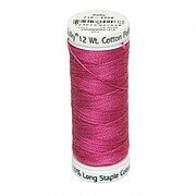 Hot Pink - Sulky 12wt Cotton Petites Thread 50 yds