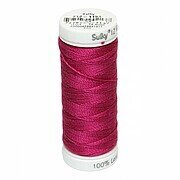 Dark Rose - Sulky 12wt Cotton Petites Thread 50 yds