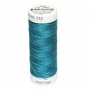 Dark Jade - Sulky 12wt Cotton Petites Thread 50 yds