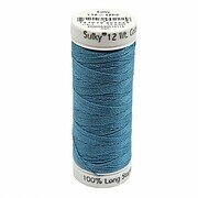 Bright Peacock - Sulky 12wt Cotton Petites Thread 50 yds