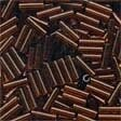 Mill Hill 72023 Root Beer Bugle Beads - 6mm Long