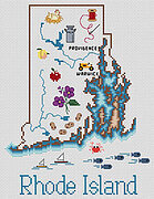 Rhode Island - Cross Stitch Pattern