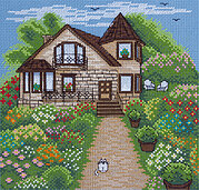 Quiet Cottage - Cross Stitch Kit