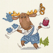 Tea and Jam - Cross Stitch Kit