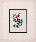Plum Tree Branch - Cross Stitch Kit