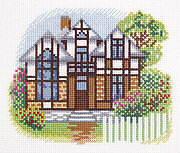 House on Cherry Lane - Cross Stitch Kit