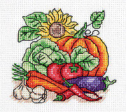 Autumn Harvest - Cross Stitch Kit