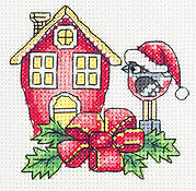Robin's House - Christmas Cross Stitch Kit