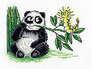 Panda and the Caterpillar - Cross Stitch Kit