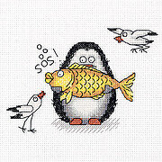 Antarctic Fisherman - Cross Stitch Kit