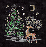 Deer - Christmas Cross Stitch Kit