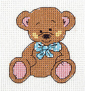 Michael the Bear - Cross Stitch Kit