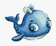 Leo the Whale - Cross Stitch Kit