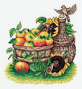 Apple Harvest - Cross Stitch Kit