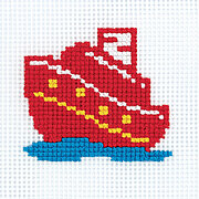 Toy Stories Ship (box) - Cross Stitch Kit