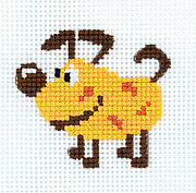 Toy Stories Dog (box) - Cross Stitch Kit