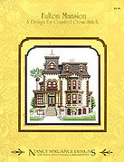 Fulton Mansion - Cross Stitch Pattern